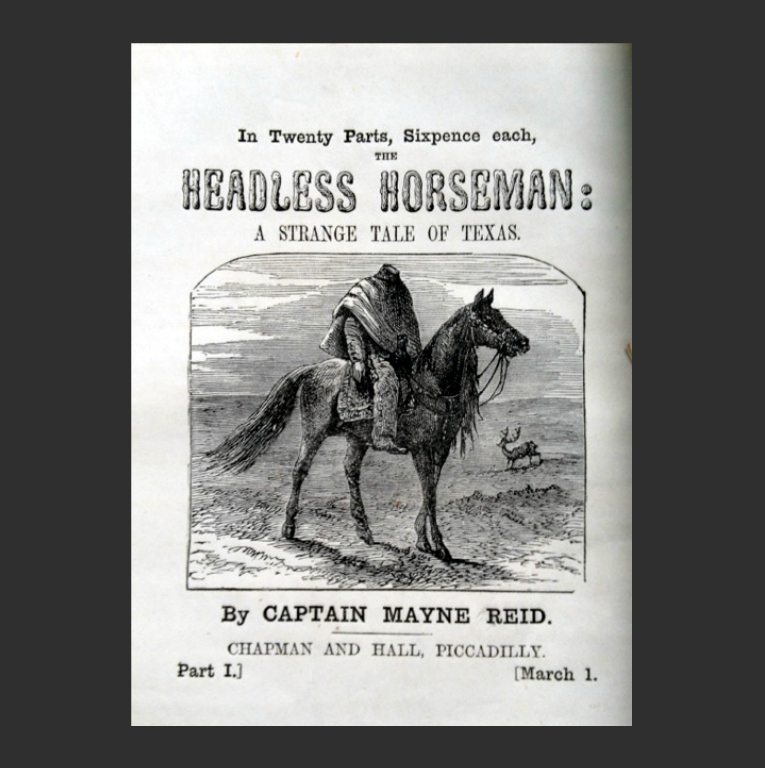 Томас Майн Рид. Всадник без головы. Лондон, 1865