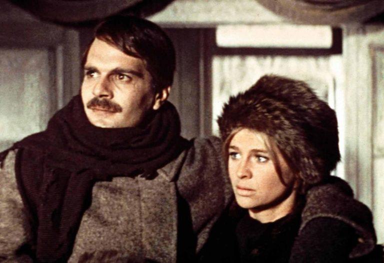Тоня Громеко и Юрий Живаго. Кадр из фильма «Доктор Живаго». 1965