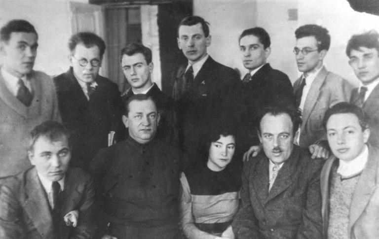 Участники Первого съезда советских писателей. 1934