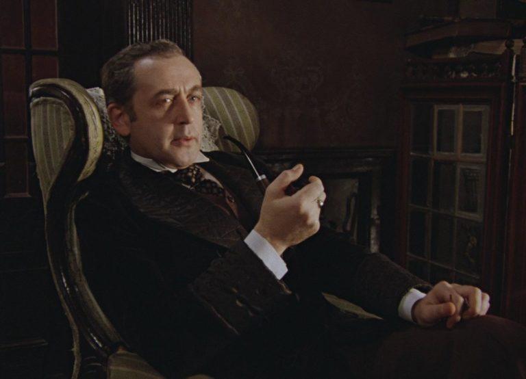 Василий Ливанов в роли Шерлока Холмса. 1979