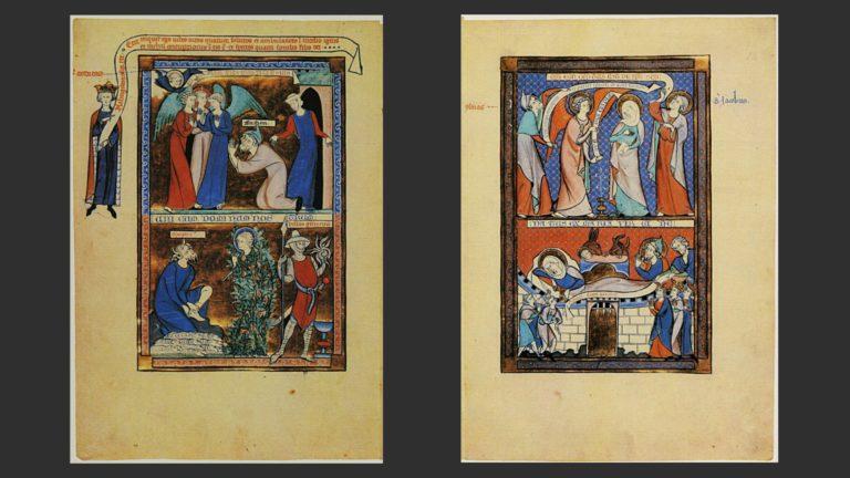 Ветхий Завет и Новый Завет. XIII в.