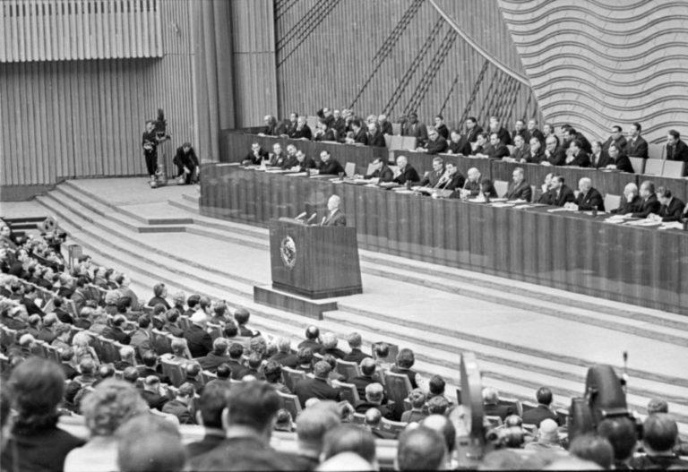 Выступление Михаила Шолохова на XVIII съезде КПСС. 1966