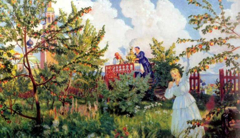 Яблоневый сад. 1918