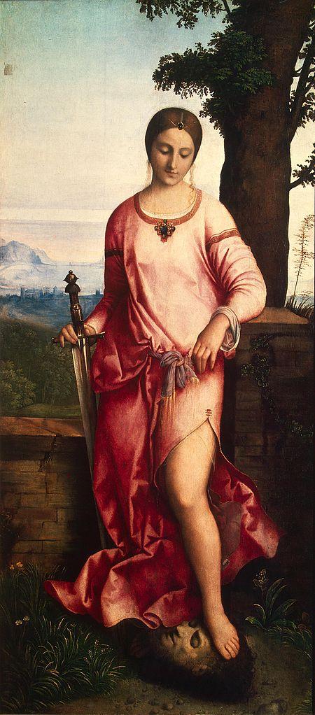Юдифь с головой Олоферна. 1504