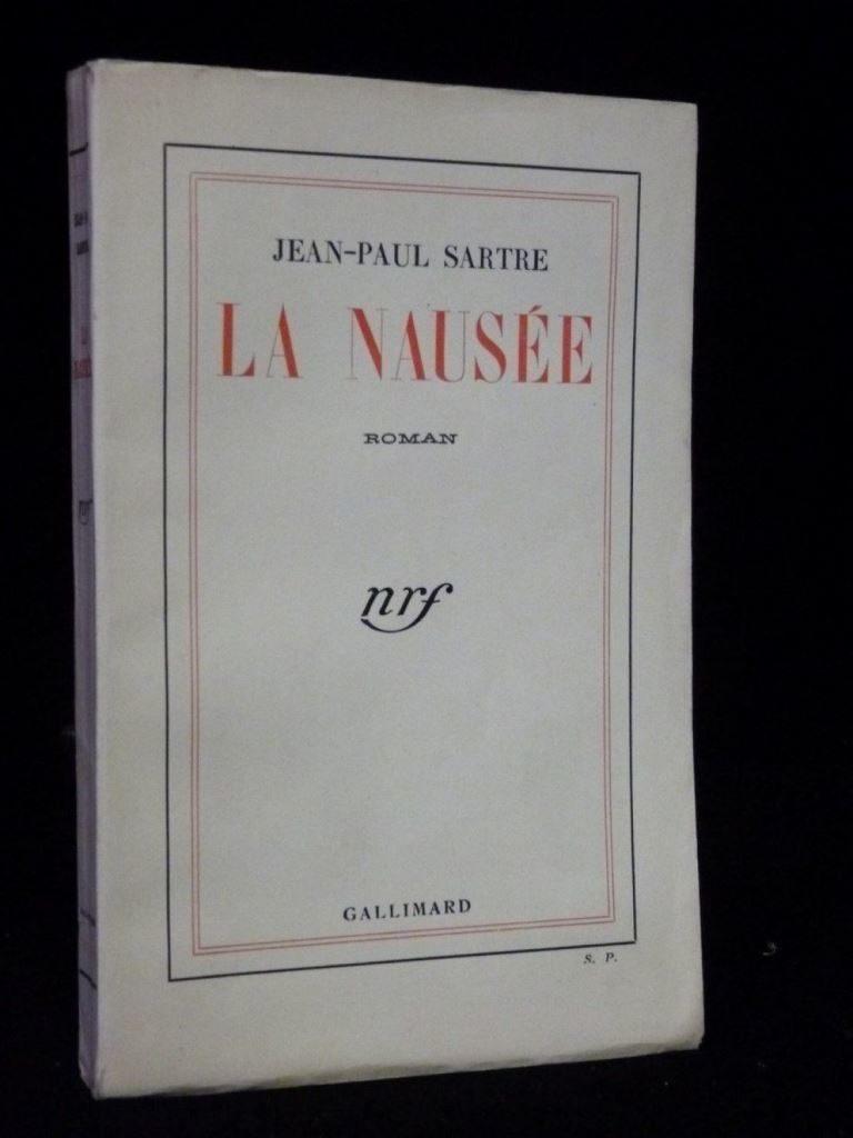 Жан-Поль Сартр. Тошнота. Париж, 1938