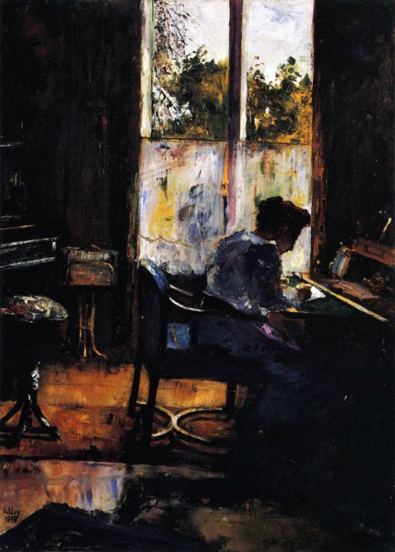 Женщина за письменным столом. 1898