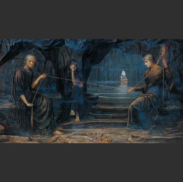 Золотая нить. Фрагмент. 1885