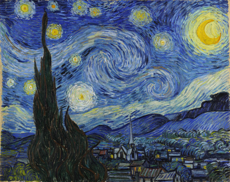 Звездная ночь. 1889