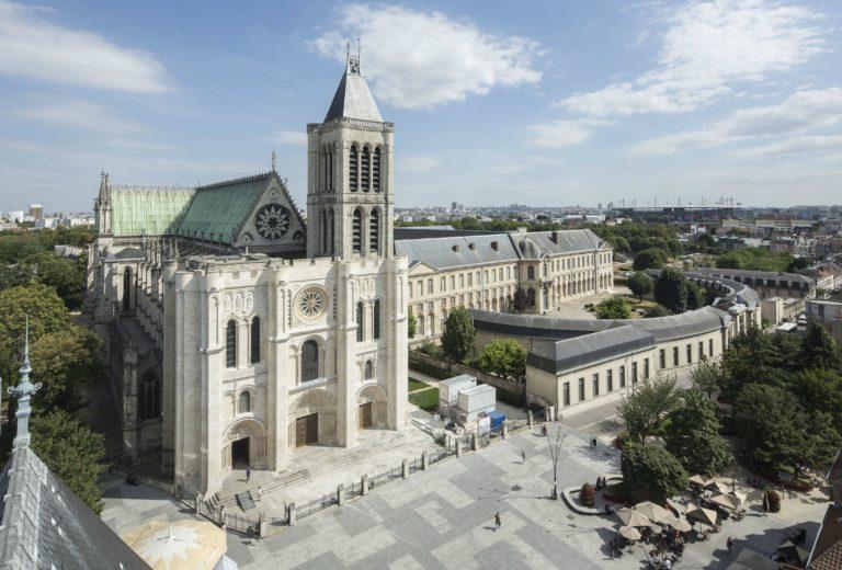 Аббатство Сен-Дени. 1-я пол. XII в. Франция