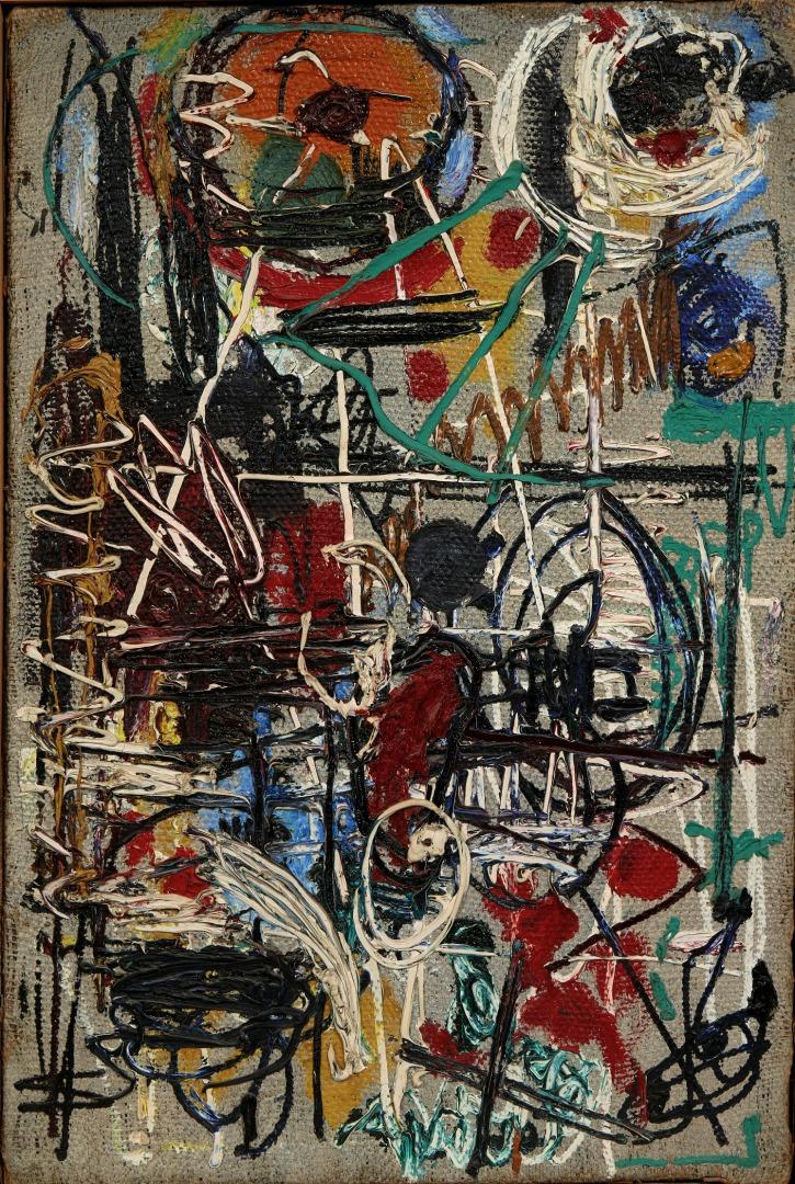 Абстрактная композиция. 1958