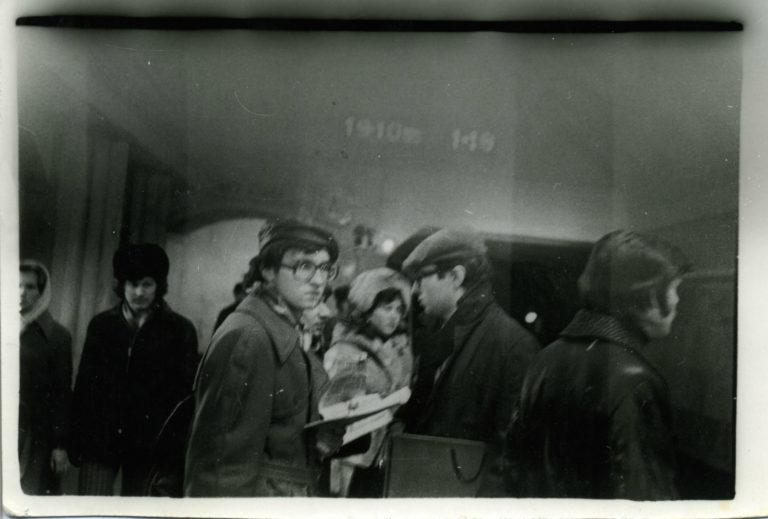 Акция «Метро» группы «Мухомор». 1979