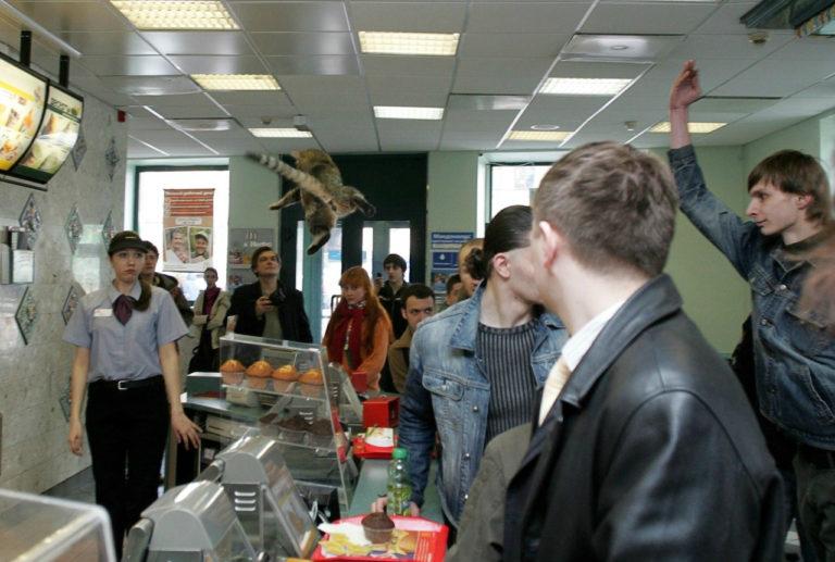 Акция «Мордовский час». Москва, 1 мая 2007