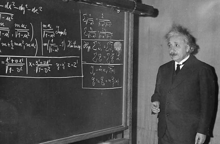 Альберт Эйнштейн (нем. Albert Einstein, 1879–1955)