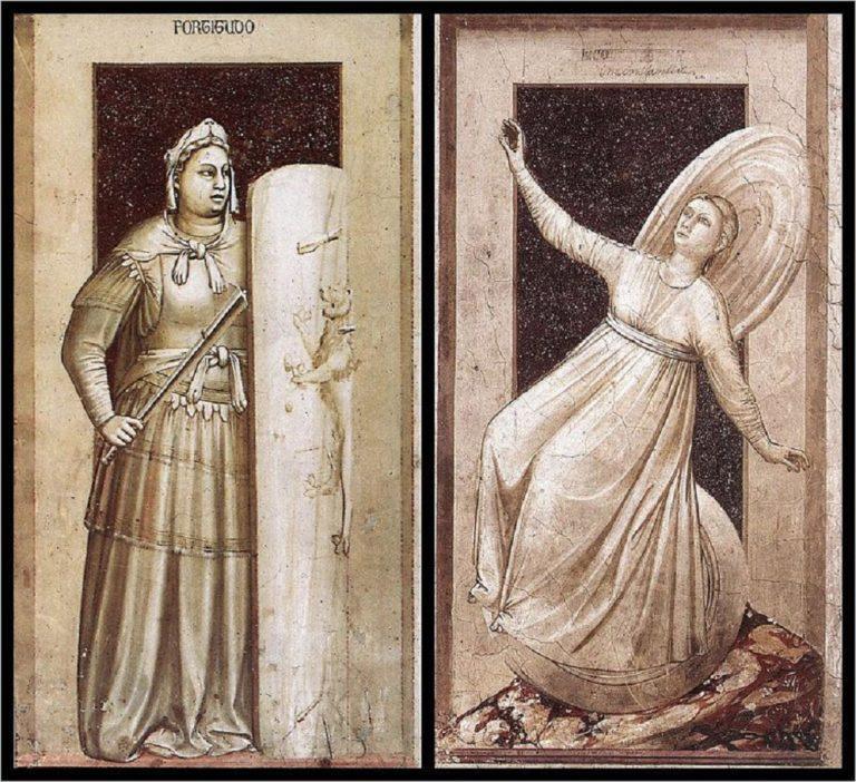 Аллегории Стойкости и Непостоянства. 1303–1305