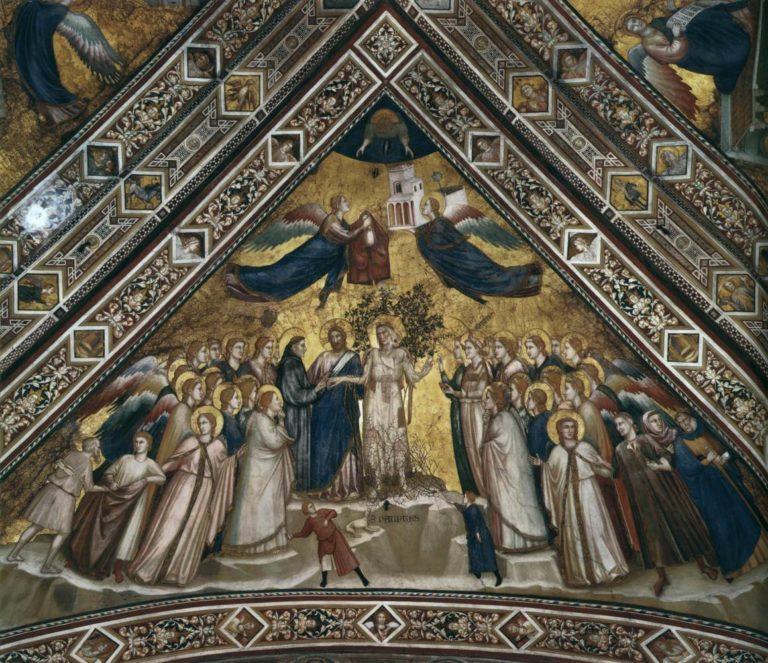 Аллегория Бедности (Св. Франциск обручается с Бедностью). Ок. 1315–1320