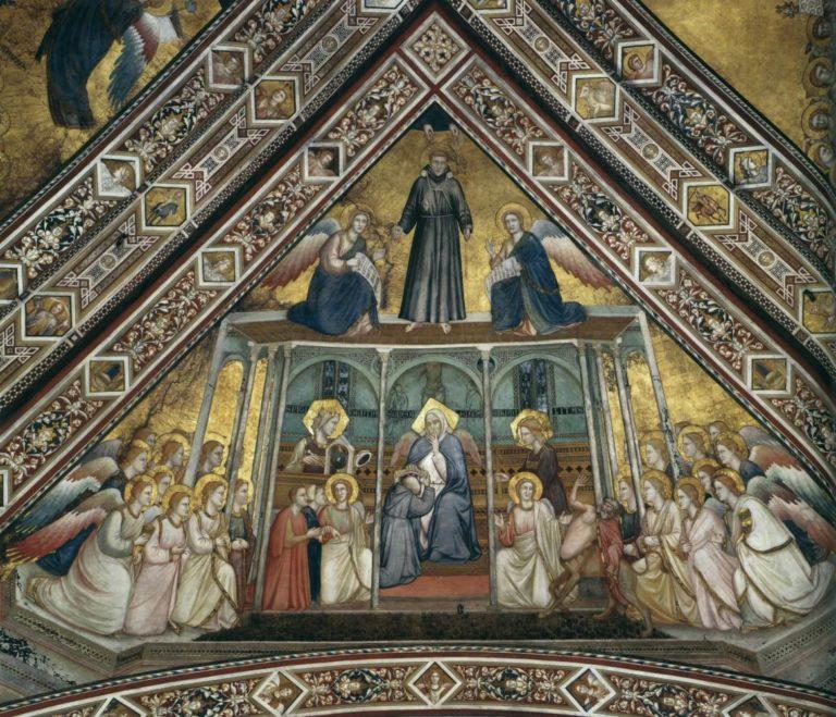 Аллегория Послушания. Ок. 1315–1320