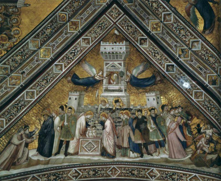 Аллегория Целомудрия (Чистоты). Ок. 1315–1320