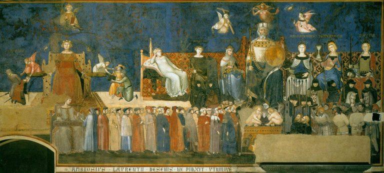 Аллегория доброго правления. 1337–1339