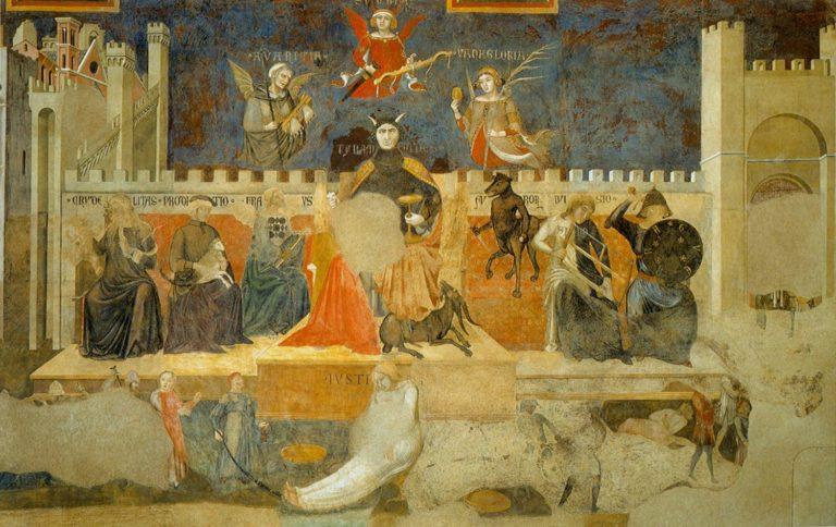 Аллегория дурного правления. 1337–1339