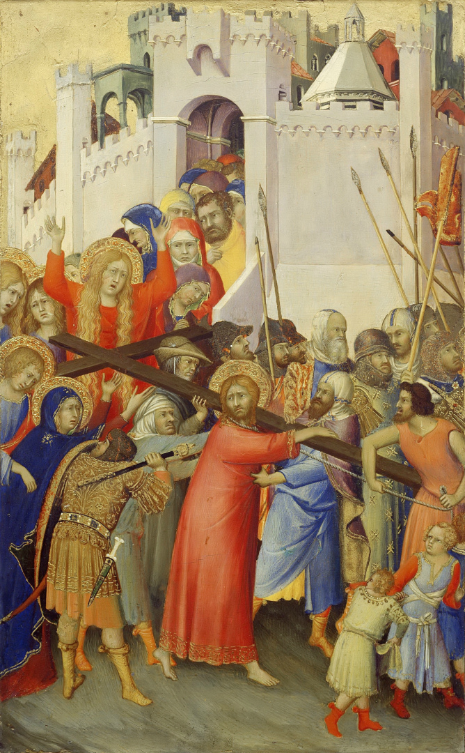 Алтарь Орсини. Несение креста. 1333–1337