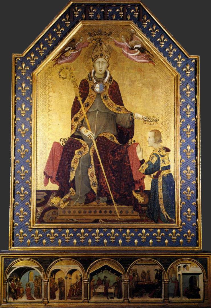 Алтарь св. Людовика Тулузского. 1317