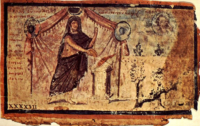 Амброзианская Илиада. Александрия, ок. 500 г.