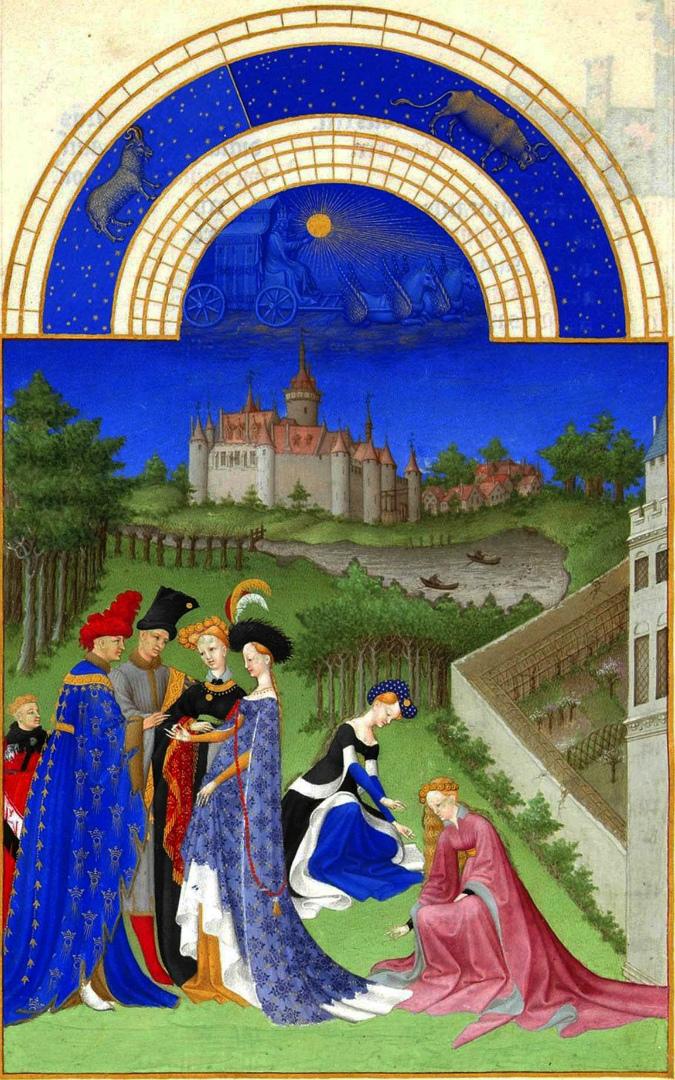 Апрель. 1411–1416