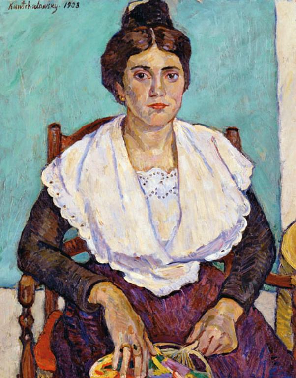 Арлезианка (Девушка из Арля). 1908