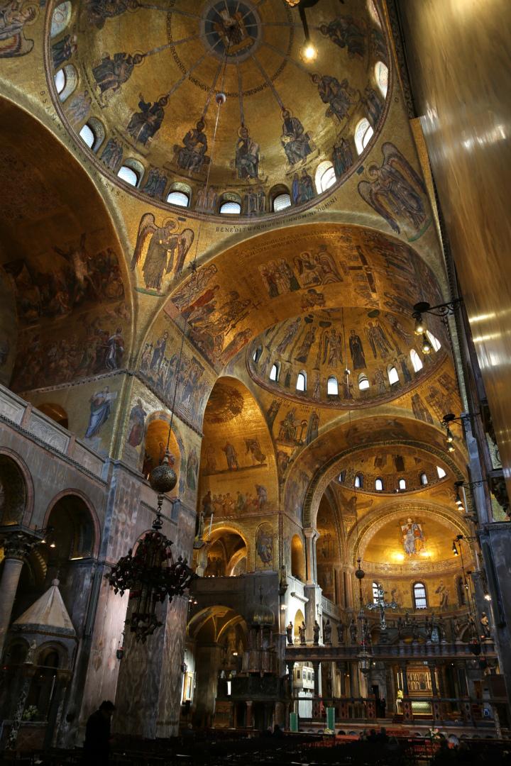 Базилика св. Марка. Мозаики XII–XIII вв.