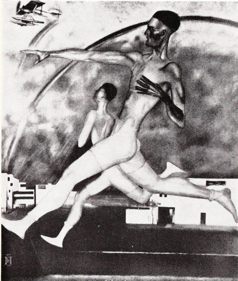 Бег. 1928