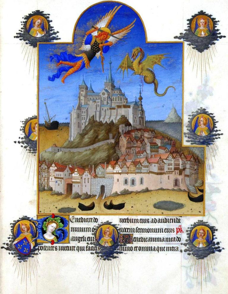 Битва архангела Михаила с драконом. 1411–1416