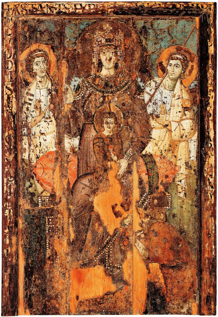Богоматерь – Царица Небесная. Нач. VIII в.