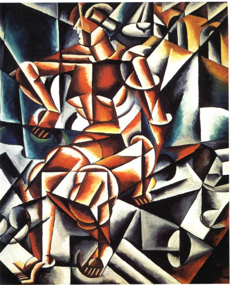 Человек, воздух, пространство. 1915