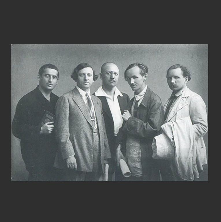 Члены АХРРа. 1926