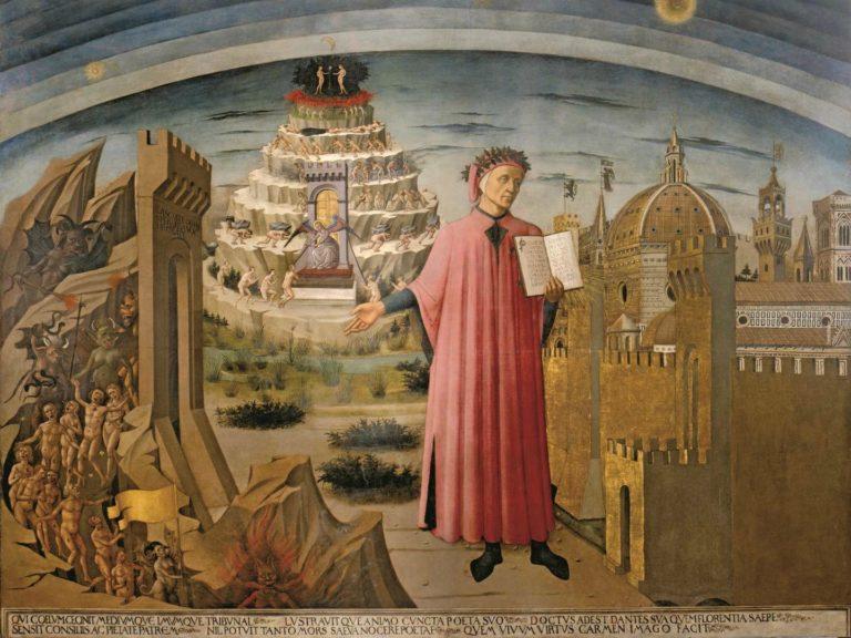 Данте Алигьери. 1465