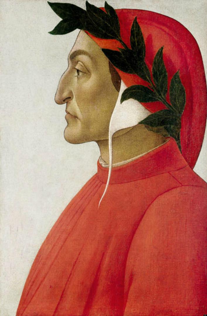 Данте Алигьери. 1495