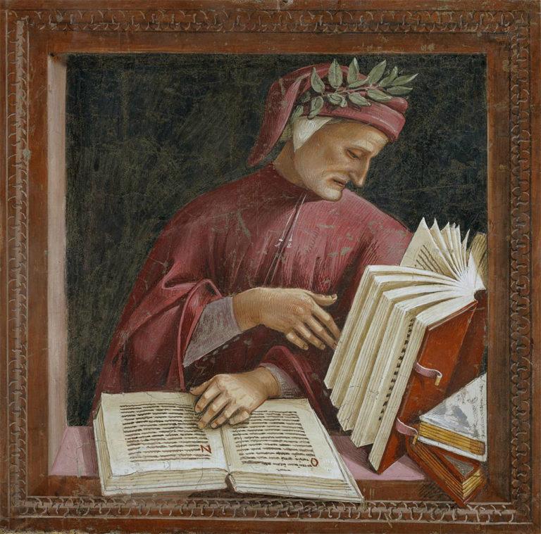 Данте Алигьери. Нач. XVI в.