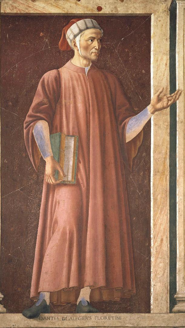 Данте Алигьери. Ок. 1450