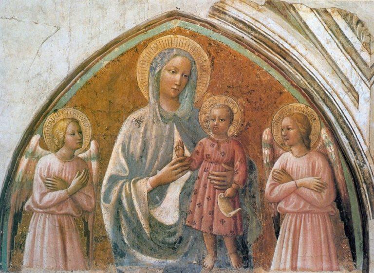 Дева с Младенцем. 1424