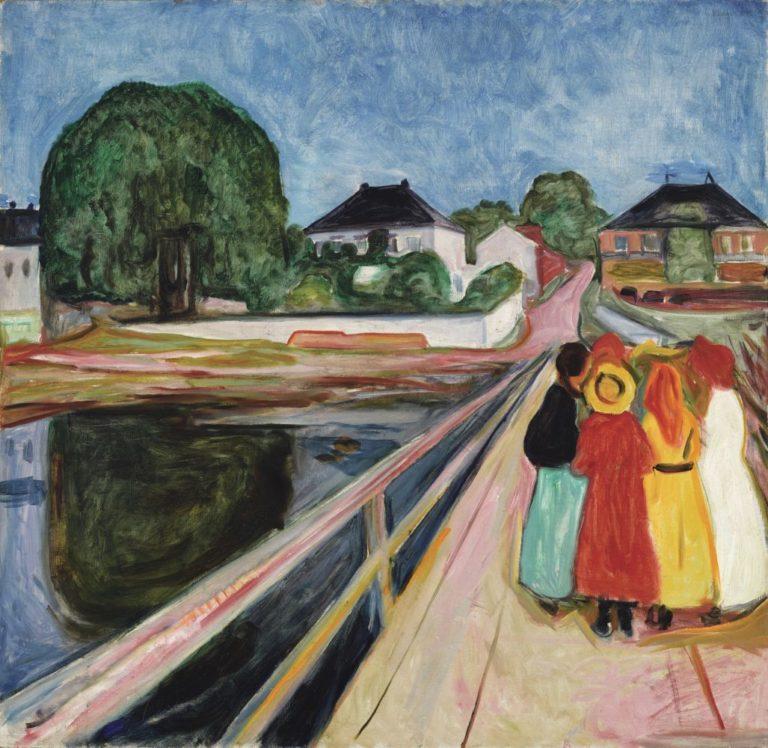 Девушки на мосту. 1902