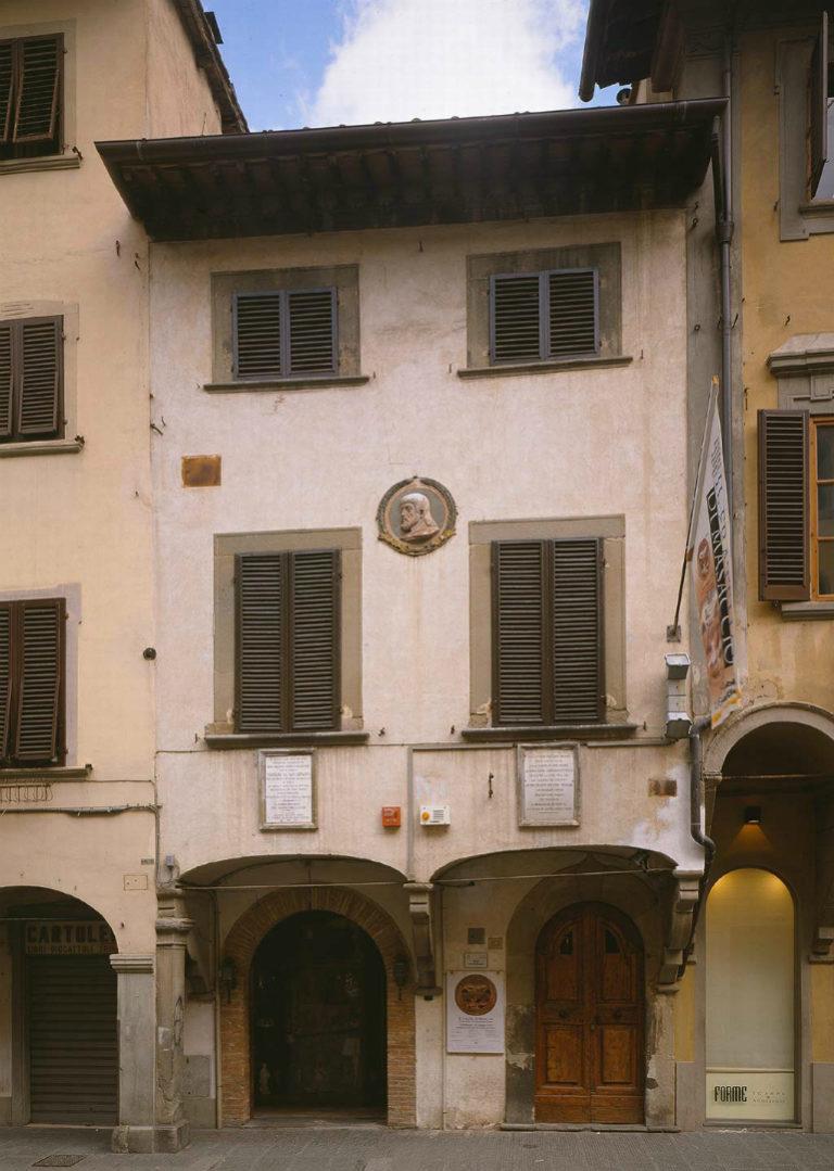 Дом, в котором Мазаччо жил в 1401–1418 гг.