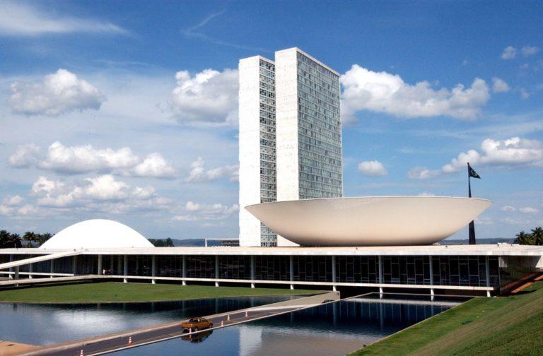 Дворец Национального конгресса Бразилии. 1960
