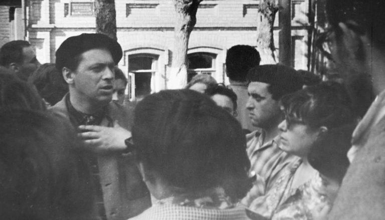 Элий Белютин и художники студии «Новая реальность» в Ярославле. 1961