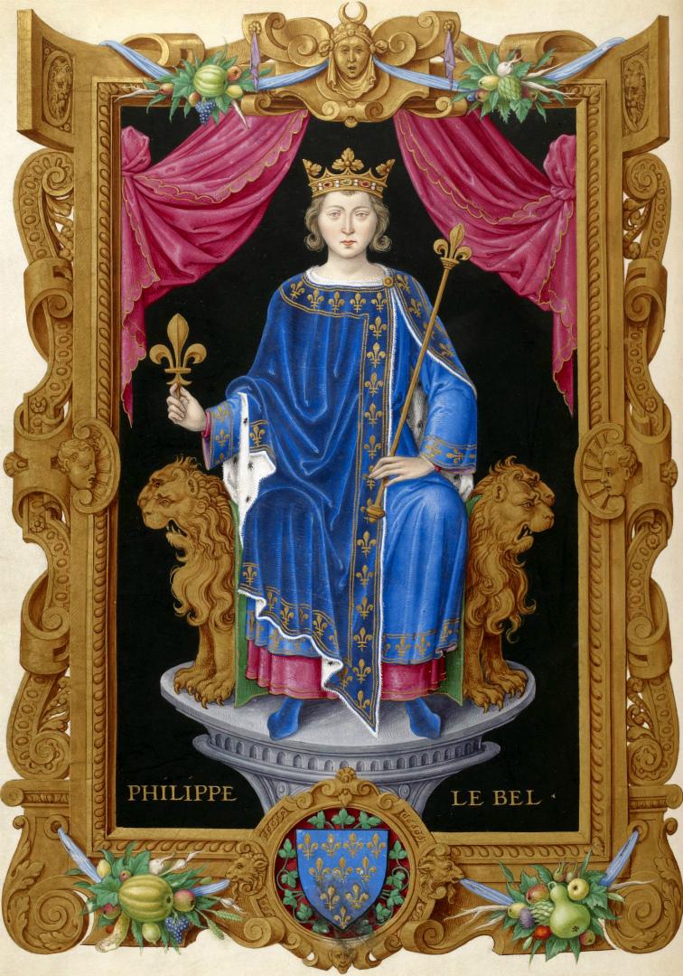 Филипп IV Красивый. XVI в.