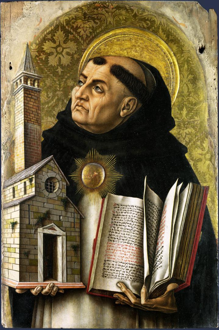 Фома Аквинский (итал. Tommaso d'Aquino, ок. 1225–1274). 1476