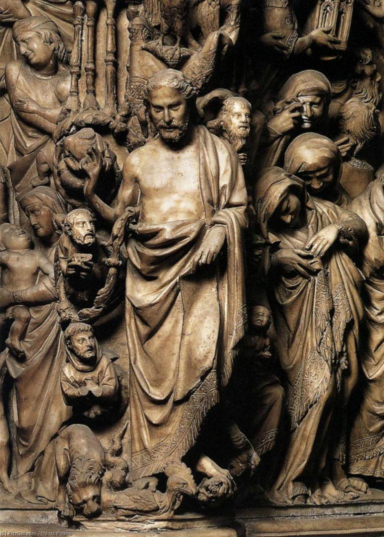Фрагмент кафедры в Сиенском соборе. 1265–1278