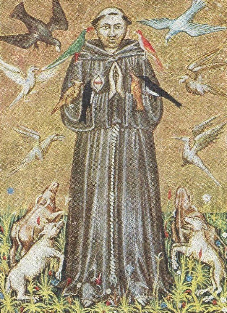 Франциск Ассизский (итал. Francesco d'Assisi, 1182–1226). XIV в.