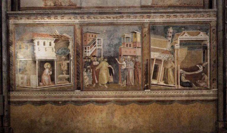 Фрески францисканского цикла. Ок. 1296–1304