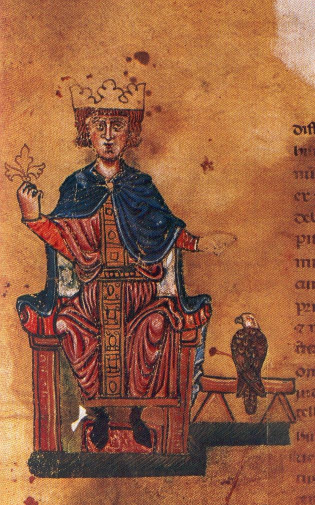 Фридрих II Штауфен (нем. Friedrich II von Hohenstaufen, 1194–1250). XIII в.