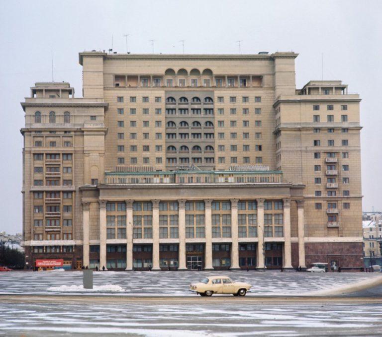 Гостиница «Москва». 1932–1935